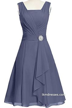 Modernbride Women Elegant Summer Chiffon Mother's Dresses 2015 Size 2 US Stormy Mother Of Groom Dresses, Mothers Dresses, Short Mothers Dress, Day Dresses, Evening Dresses, Formal Dresses, Bride Dresses, Summer Dresses, Cheap Dresses