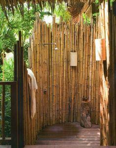 outdoor shower stylewhite cedarcedar wood