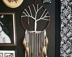 Tree of Life Dream Catcher by Aurvgon on Etsy