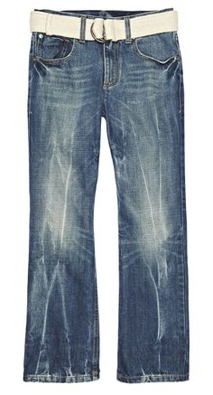 a stroke of jean-ius -- boys distressed denim arizona jean