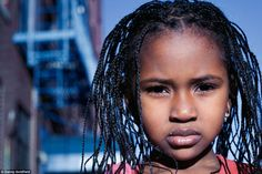 Mariama, from Sierra Leone, NYChildren project, Photographer Danny Goldfield