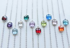Hey, I found this really awesome Etsy listing at https://www.etsy.com/listing/114654002/silver-birthstone-bracelets