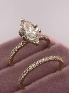 Marquise Cut Diamond Ring, Engagement Ring Cuts, Conflict Free Diamonds, Bridal Sets, Carat Gold, Diamond Shapes, Wedding Bands, Ring Ring, Dreams