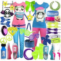 bright BRIGHT clothing!!!