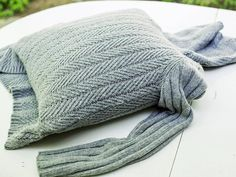 Turn an old sweater into a pillow slipcover! See how: http://www.hgtv.com/handmade/turn-an-old-sweater-into-a-chic-preppy-pillow/index.html?soc=pinterest