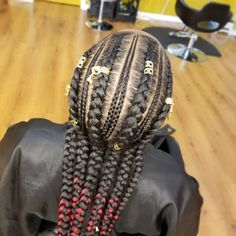 6 Feed In Braids with small braids on IG curly.me to book Feeder Braids, Feed In Braid, Small Braids, Protective Styles, Black Girl Magic, Healthy Hair, Braided Hairstyles, Black Hair, Natural Hair Styles