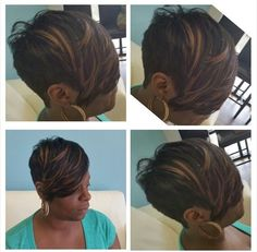Hair king mikea is creative inspiration for us. Get more photo about Hairstyle… Dope Hairstyles, Cute Hairstyles For Short Hair, Black Women Hairstyles, Short Hair Cuts, Short Hair Styles, Pixie Cuts, Bob Cuts, Pixie Styles, Short Pixie