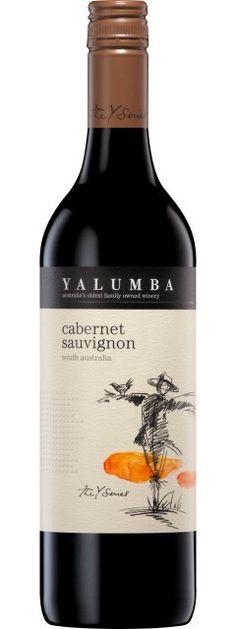 Yalumba Cabernet Sauvignon   'Otras 101 etiquetas de botellas de vino... (2ª parte)' by @Recetum