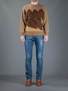 GIANNI VERSACE VINTAGE horse sweater