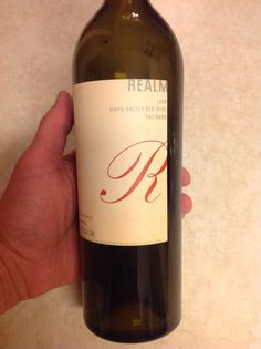 "Realm Cellars 2008 ""The Bard"". Outstanding blend of 81% Cab, 13% Petit Verdot, and 6% Malbec.  Big and muscular, with notes of sage, spicebox, and cassis.  Gorgeous wine!  92+ pts."