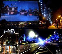 La Castellana and its Christmas lights. Madrid 2012 ; ) http://citywinks.es/2012/12/24/madrid-lights-merry-christmas/