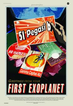 米航空宇宙局(NASA)ジェット推進研究所は、人々の好奇心を刺激し、太陽系に留まらず太陽系外惑星まで探検したいと思ってもらうため、レトロなデザインの「宇宙観光のポスター」を公開した。ダウンロードは無料で楽しめる。