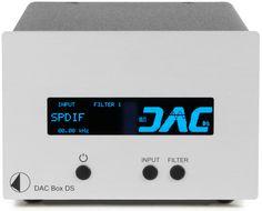 Pro-ject har nå oppgradert sin DAC BOX DS slik at den også støtter DSD-filer via USB-inngangen.
