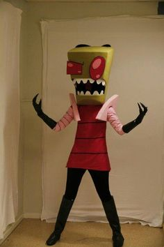 Invader Zim. View more EPIC cosplay at http://pinterest.com/SuburbanFandom/cosplay/...