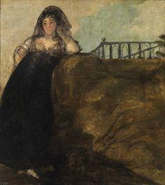 Goya, Una manola: Leocadia Zorrilla. 1820-1823