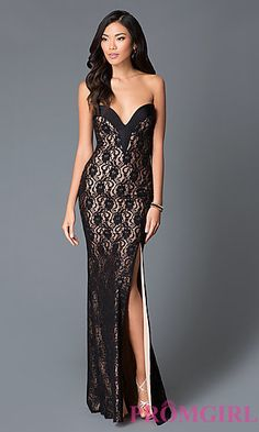 JO-JVN-JVN33478 - JVN by Jovani Floor Length Embroidered Gown ...