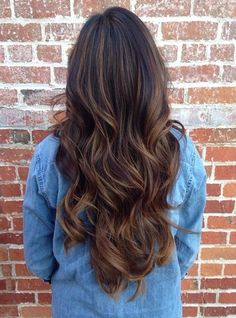 83 New Brilliant Balayage Black Hair Color Ideas to Inspire You – Hairstyles Magazine Hair magazine – Hair Models-Hair Styles Black Hair Ombre, Ombre Hair Color, Hair Color For Black Hair, Cool Hair Color, Dark Hair, Brown Hair, Curly Hair Styles, Natural Hair Styles, Cabelo Inspo