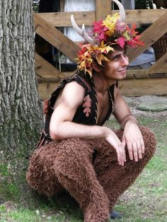 Satyr maybe one year matt can go as this @Anna Lavendyre