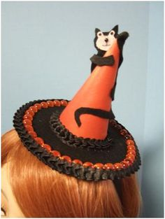 Cat on a Hat | Teacup Milliner