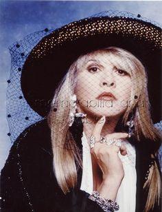 Stevie Nicks Fleetwood Mac rare COLOUR! photo