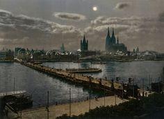 Kölner Stückwerk:  Nahezu 900 Jahre war die Rheinstadt ohne Brücke...