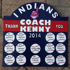 ⚾️All Star baseball coach gift⚾ | Baseball | Pinterest ...