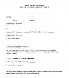modele bail code civil