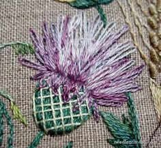 Wonderful Ribbon Embroidery Flowers by Hand Ideas. Enchanting Ribbon Embroidery Flowers by Hand Ideas. Learn Embroidery, Silk Ribbon Embroidery, Embroidery Needles, Crewel Embroidery, Hand Embroidery Patterns, Cross Stitch Embroidery, Embroidery Tattoo, Flower Embroidery, Embroidery Techniques