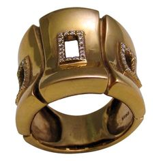 1940's Rose Gold & Diamond Ring