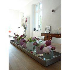 Tischdeko wohnzimmer  Ganz einfache #Tischdeko zur #Konfirmation | Tischdeko | Pinterest ...