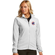 Chicago Cubs White Ice Full-Zip Jacket  #ChicagoCubs #Cubs #FlyTheW #MLB