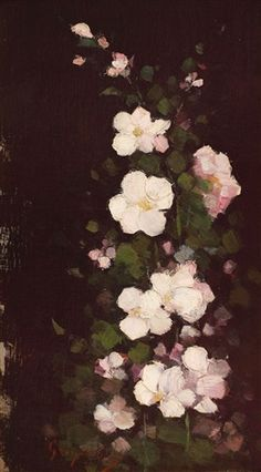 Flori de măr by Nicolae Grigorescu Oil Painting Flowers, Painting & Drawing, Old Art, Beautiful Artwork, Art School, Great Artists, Painting Inspiration, Artsy Fartsy, Art History
