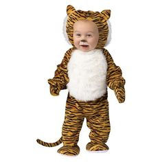 Toddler Cuddly Tiger Costume 3T-4T : Target