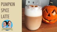 Pumpkin Spice Latte Rezept (Halloween-Kürbis Resteverwertung)
