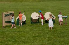 Playground drums