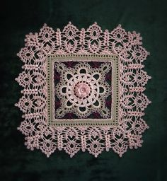 VK is the largest European social network with more than 100 million active users. Crochet Motifs, Crochet Squares, Thread Crochet, Filet Crochet, Lace Knitting, Crochet Doilies, Crochet Lace, Crochet Stitches, Doily Patterns