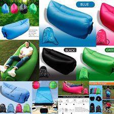 Sensible Fast Inflatable Lazy Bag Air Sleeping Bag Outdoor Inflatable Sofa Portable Beach Inflatable Sofa Camping Air Sofa New As Effectively As A Fairy Does Camp Sleeping Gear