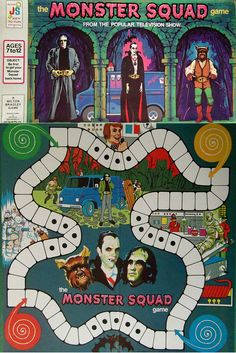 """Monster Squad"" board game"