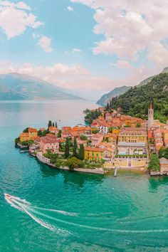 Beautiful Places To Travel, Best Places To Travel, Places To Visit, Best Places In Italy, Places In Europe, Comer See, Lake Como Italy, Belle Villa, By Train
