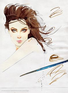 Die Illustratoren - Portfolio -  FASHION ILLUSTRATION Nuno DaCosta   X X X X X