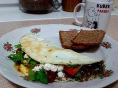 Biały omlet na bogato