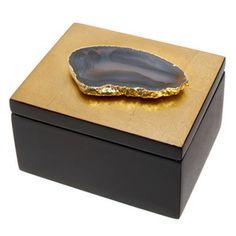 Agate Trinket Box