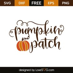 Create your DIY projects using your Cricut Explore, Silhouette and more. The free cut files include SVG, DXF, EPS and PNG files. Cricut Vinyl, Svg Files For Cricut, Cricut Monogram, Vinyl Crafts, Vinyl Projects, Pumpkin Patch Party, Silhouette Clip Art, Silhouette Projects, Image Font