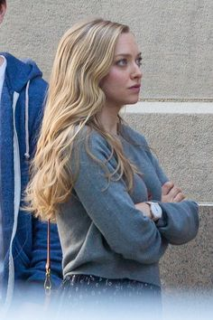 Amanda Seyfried - On the set of 'Ted 2' in Boston - August 5, 2014 #AmandaSeyfried #Ted2