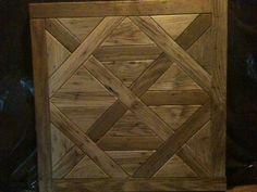 Pallet wood to flooring panels