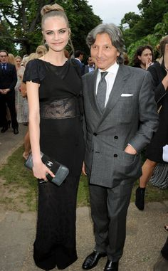 The Serpentine Gallery: Cara Delevingne  y  Leon Max.