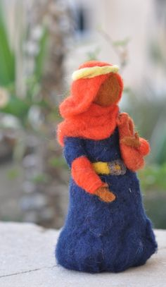 Needle felted-Nativity Set-Nativity-Waldorf-  Wise men-Magi--needle felt by Daria Lvovsky-