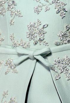 This looks like a beautiful dress.  By Giambattista Valli.