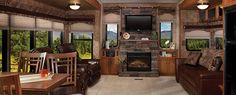 Sandpiper Fifth Wheel Interior by Forest River