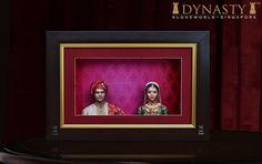 Framed Semi Klone Couple